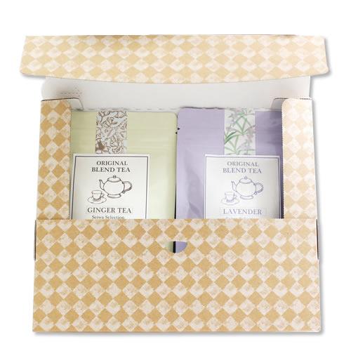 洋風な紅茶・ハーブティの通販用梱包